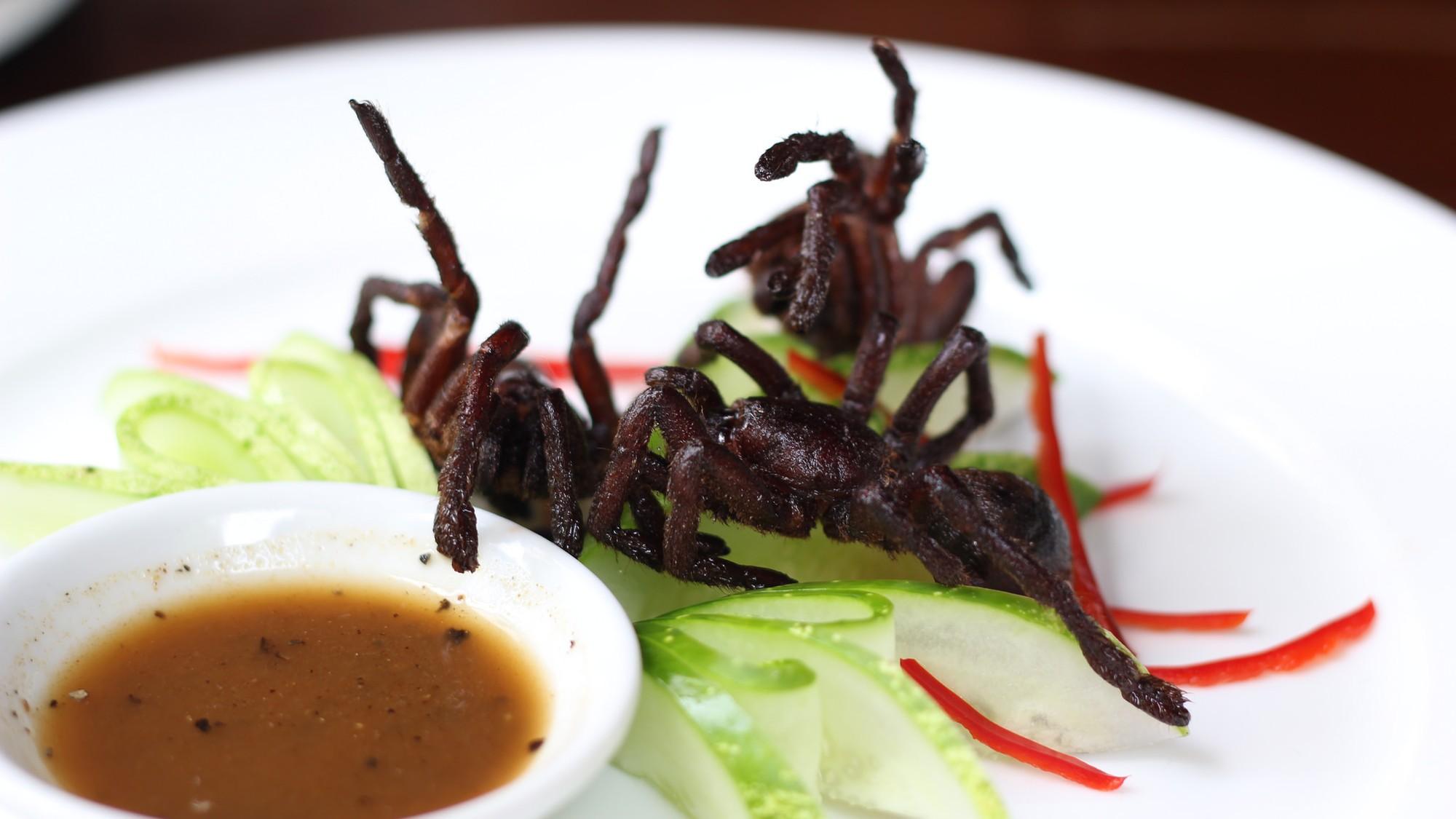 Image result for deep fried tarantula hd