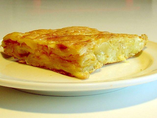 Spanish Omelette Tortilla Patatas