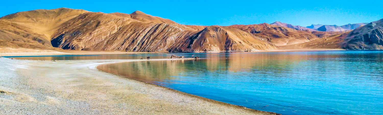 Pangong Lake - Puja Vacations in Ladakh