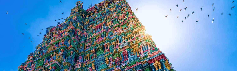 South India tour in Durga Puja
